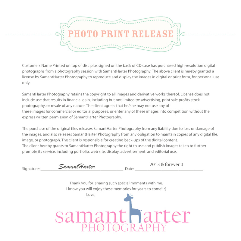 Release  Samantha Harter Photography
